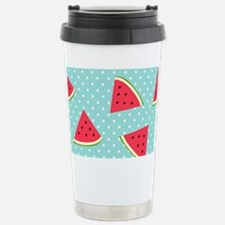 Watermelon Pattern Stainless Steel Travel Mug