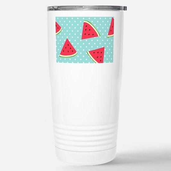 Watermelon Pattern Stainless Steel Travel Mug