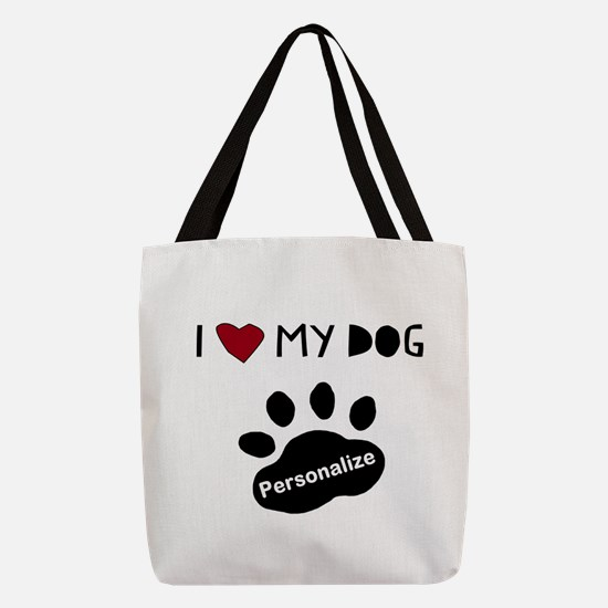 Personalized Dog Polyester Tote Bag
