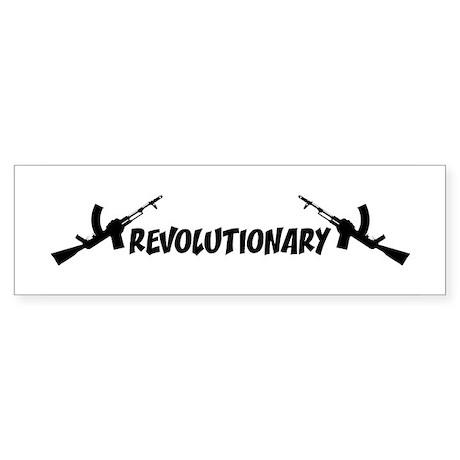 Revolutionary Bumper Sticker