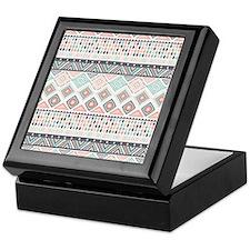 Native Pattern Keepsake Box