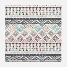 Native Pattern Tile Coaster