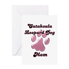 Catahoula Mom3 Greeting Card