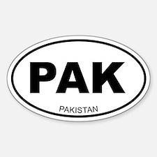 Pakistan Oval Decal