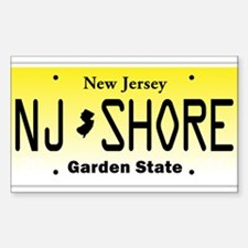 New Jersey, License Plate, Jersey Shore Decal