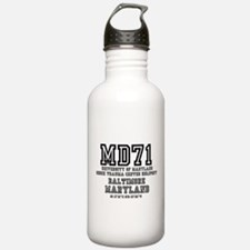 UNIVERSITY AIRPORT COD Water Bottle