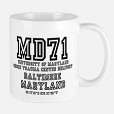 UNIVERSITY AIRPORT CODES - MD71 - UNIVERSITY Mugs