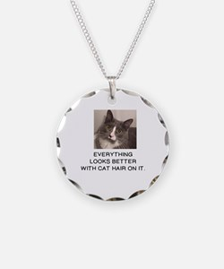 Cute Cat hair Necklace