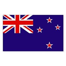 New Zealand Rectangle Decal