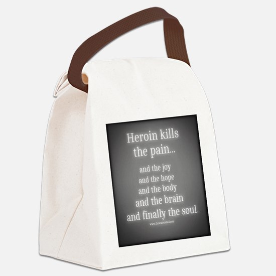 Cool Heroin Canvas Lunch Bag