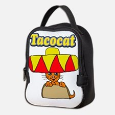 Taco cat Neoprene Lunch Bag