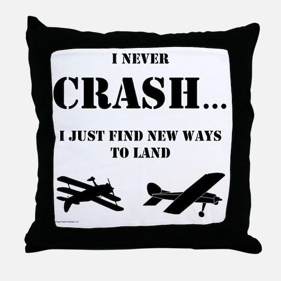 Cute Airplane Throw Pillow