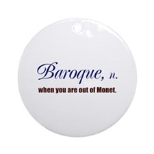 Baroque Ornament (Round)