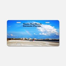 Siesta Key Beach Aluminum License Plate
