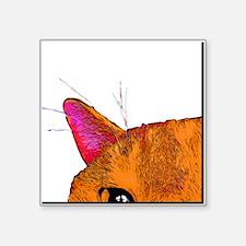 """Square Sticker 3"""" X 3"""" Polly1"""