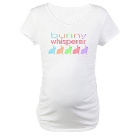 Bunny Whisperer Maternity T-Shirt