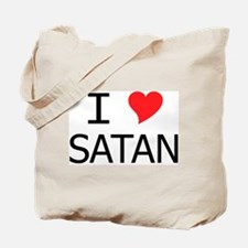 I Heart Satan Tote Bag