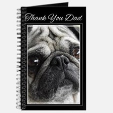 Thank You Dad Pug Journal