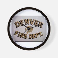 Denver Fire Department Wall Clock