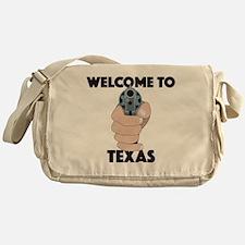 Cute Welcome to texas Messenger Bag