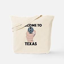 Cute Welcome dallas Tote Bag