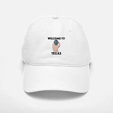 Welcome to Texas Baseball Baseball Cap