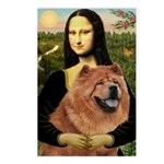 Mona / Chow Postcards (Package of 8)