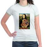 Mona / Chow Jr. Ringer T-Shirt