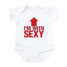 I'm With Sexy Infant Bodysuit