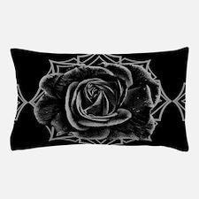 Black Rose On Gothic Pillow Case