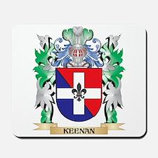 Keenan Coat of Arms - Family Crest Mousepad