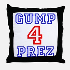GUMP 4 PREZ Throw Pillow