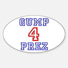 GUMP 4 PREZ Decal