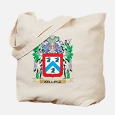 Kellogg Coat of Arms - Family Crest Tote Bag