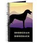 Ridgeback Dog Mountains Journal