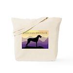 Ridgeback Dog Mountains Tote Bag