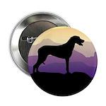 Ridgeback Dog Mountains Button