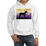Ridgeback Dog Mountains Hooded Sweatshirt