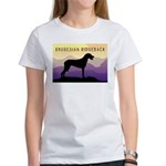 Ridgeback Dog Mountains Women's T-Shirt