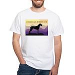 Ridgeback Dog Mountains White T-Shirt