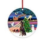 Xmas Magic / Manchester Ornament (Round)