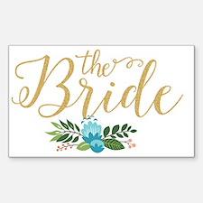 Cute Bride Decal