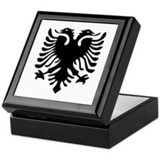 Albanian Eagle Keepsake Box