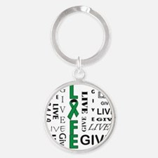 Live to Give Keychains