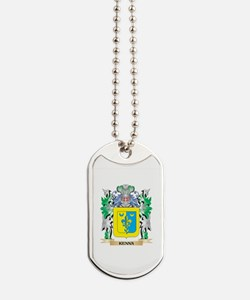 Kenna Coat of Arms - Family Crest Dog Tags