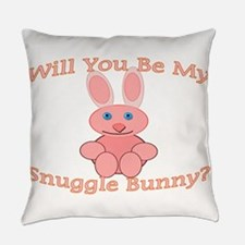Snuggle Bunny Everyday Pillow