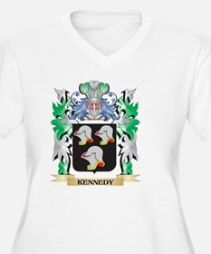 Kennedy Coat of Arms - Family Cr Plus Size T-Shirt
