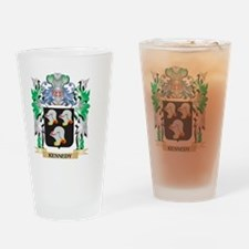 Kennedy Coat of Arms - Family Crest Drinking Glass