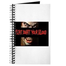 DONETE YOUR BLOOD Journal