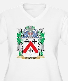 Kennedy- Coat of Arms - Family C Plus Size T-Shirt